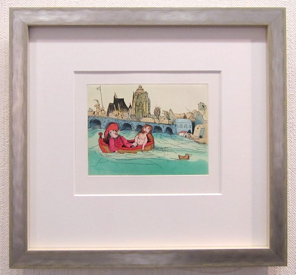 Goethes Wasserspiele, gerahmt