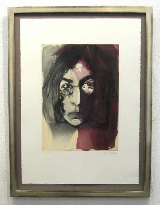 John Lennon 2012, gerahmt