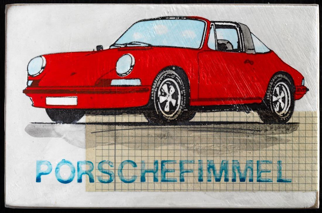 Porschefimmel - rot nach links- 2020
