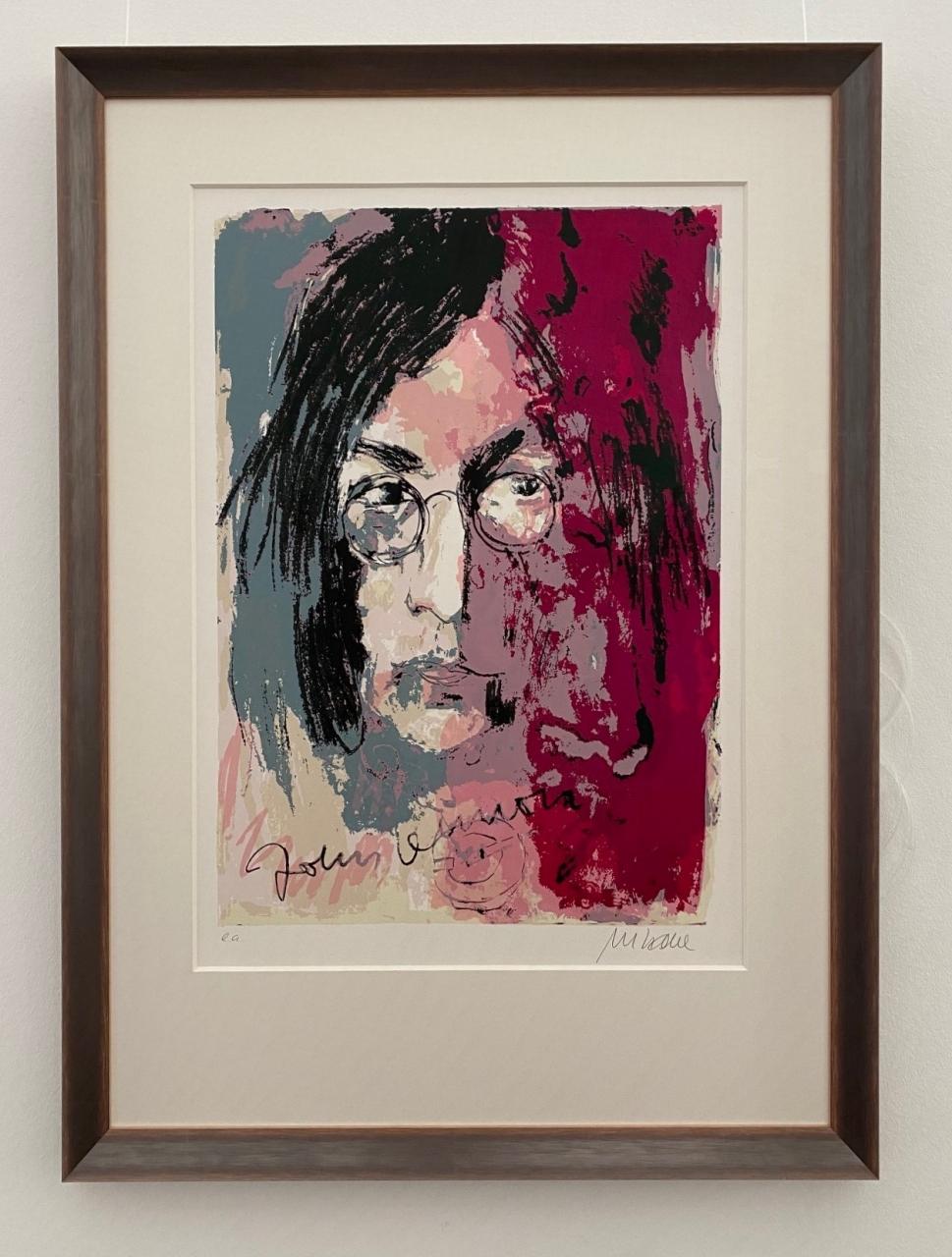 John Lennon 2015, gerahmt