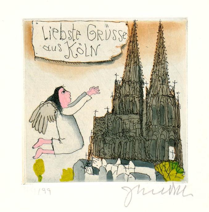 Liebste Grüße aus Köln
