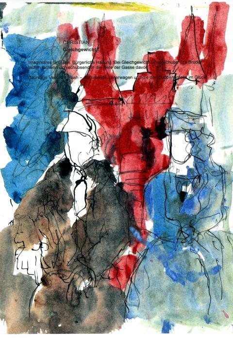 Buddenbrooks - Jean und Bethsy vor dem Holstentor