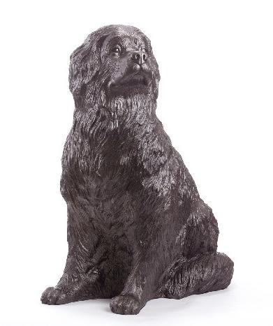 Wagners Hund Russ, bronze