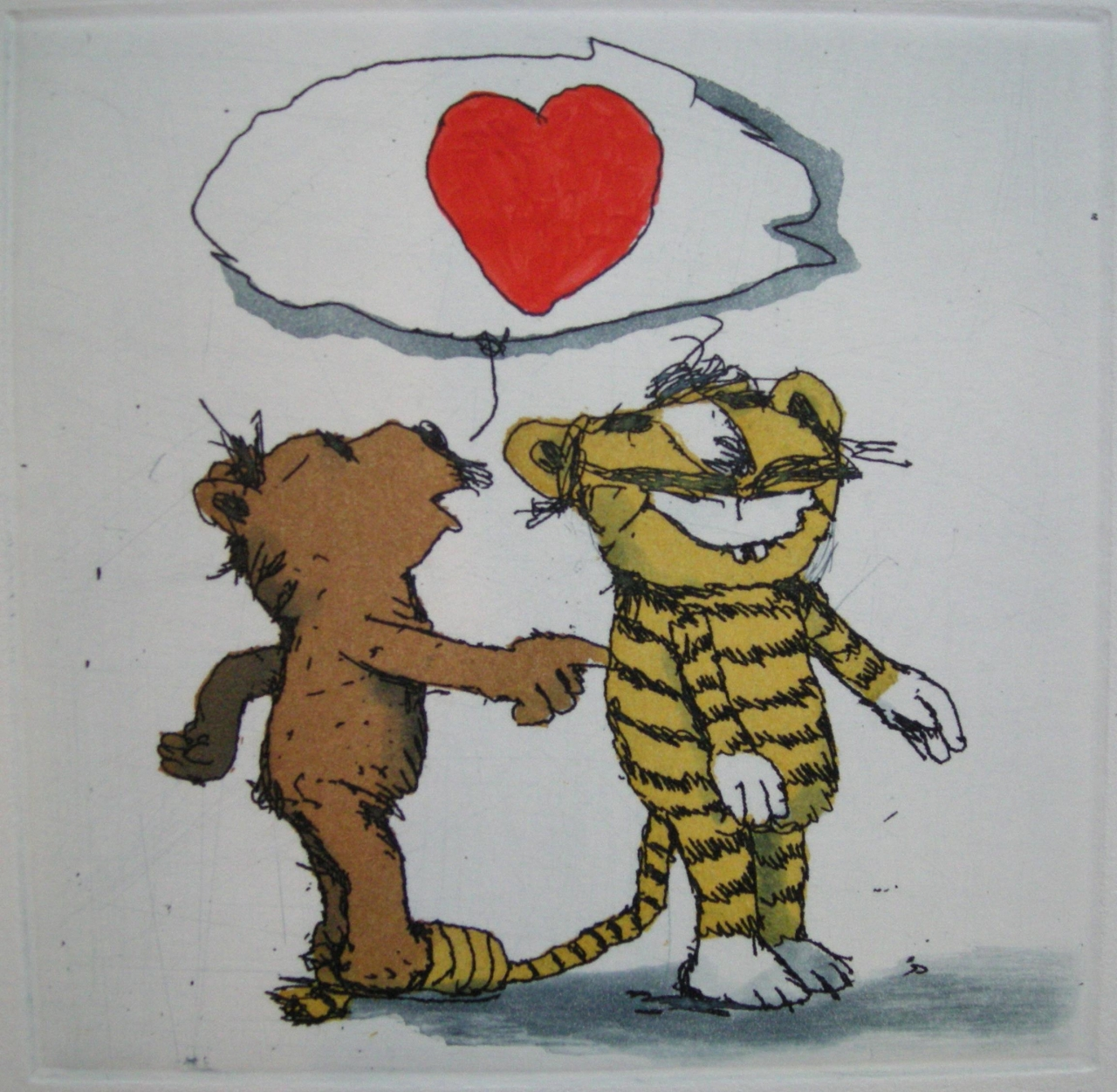 Ich liebe Dich kleiner Tiger