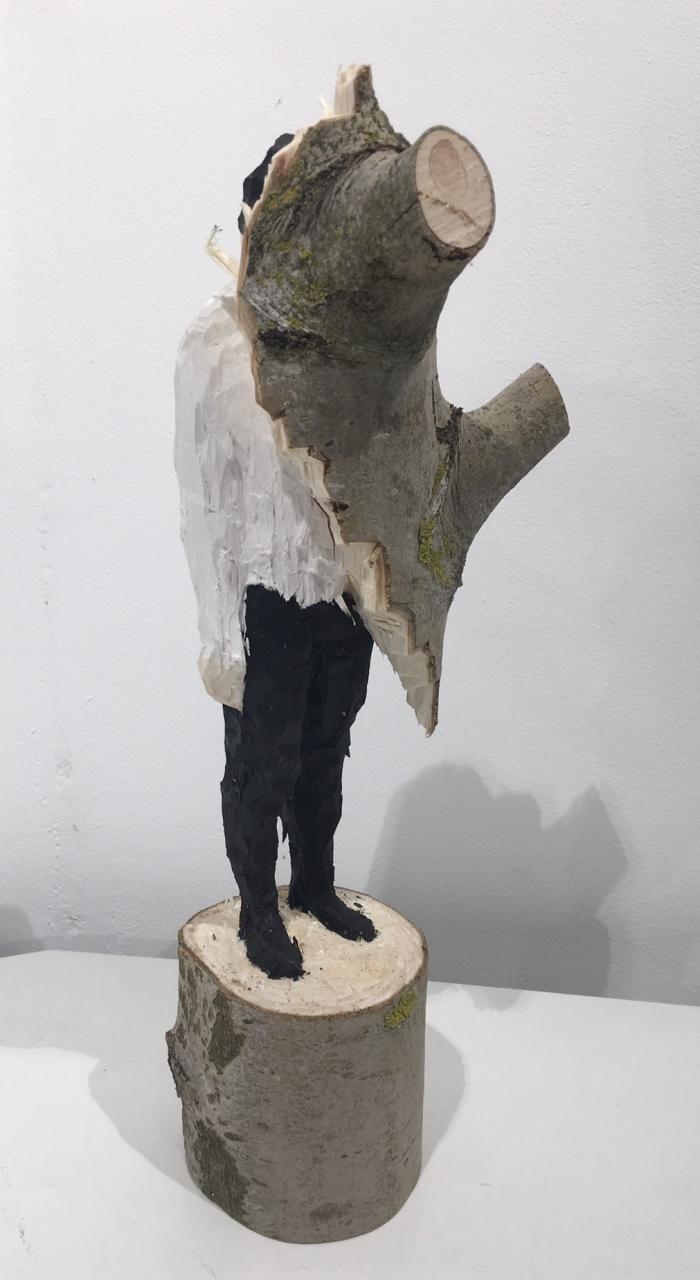 ohne Titel (stehender Mann) - 2019