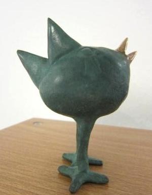 Kleiner dünner Vogel