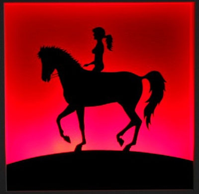 Der Pferdeschwanz (mit Beleuchtung)