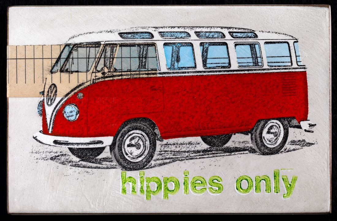 Hippies only - Rot