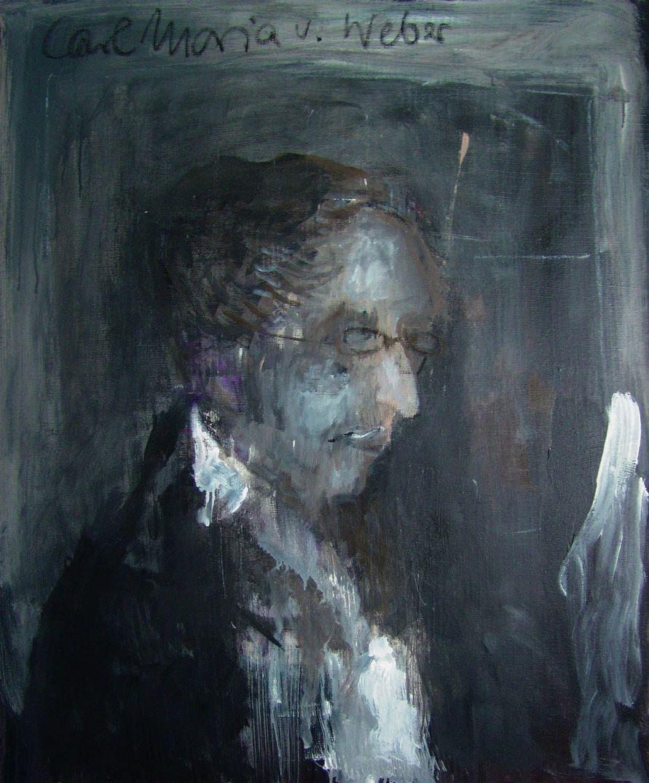 Porträt - Carl Maria von Weber