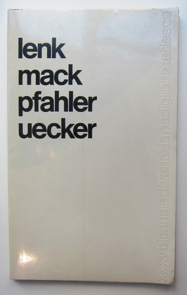 Mappenwerk Venedig Biennale 1970