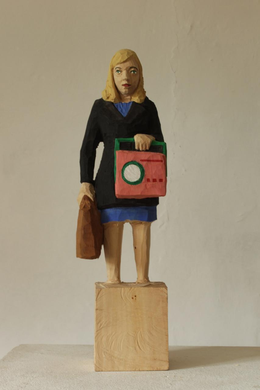 Edekafrau (1257) Vintageradio