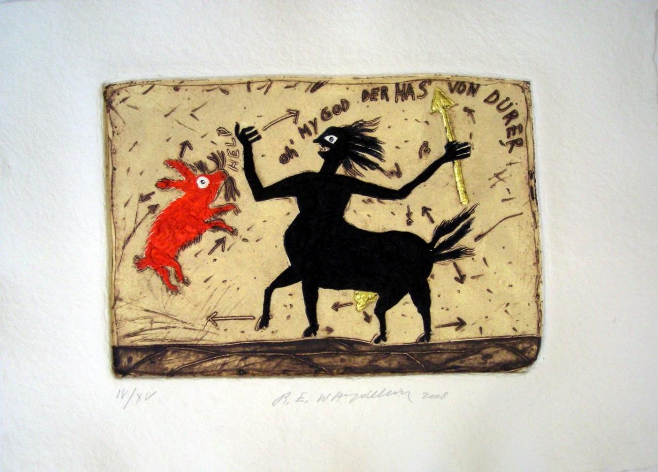 Le Centaure - der Has von Dürer