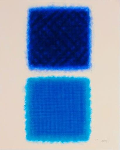 Chromatik blau-blau