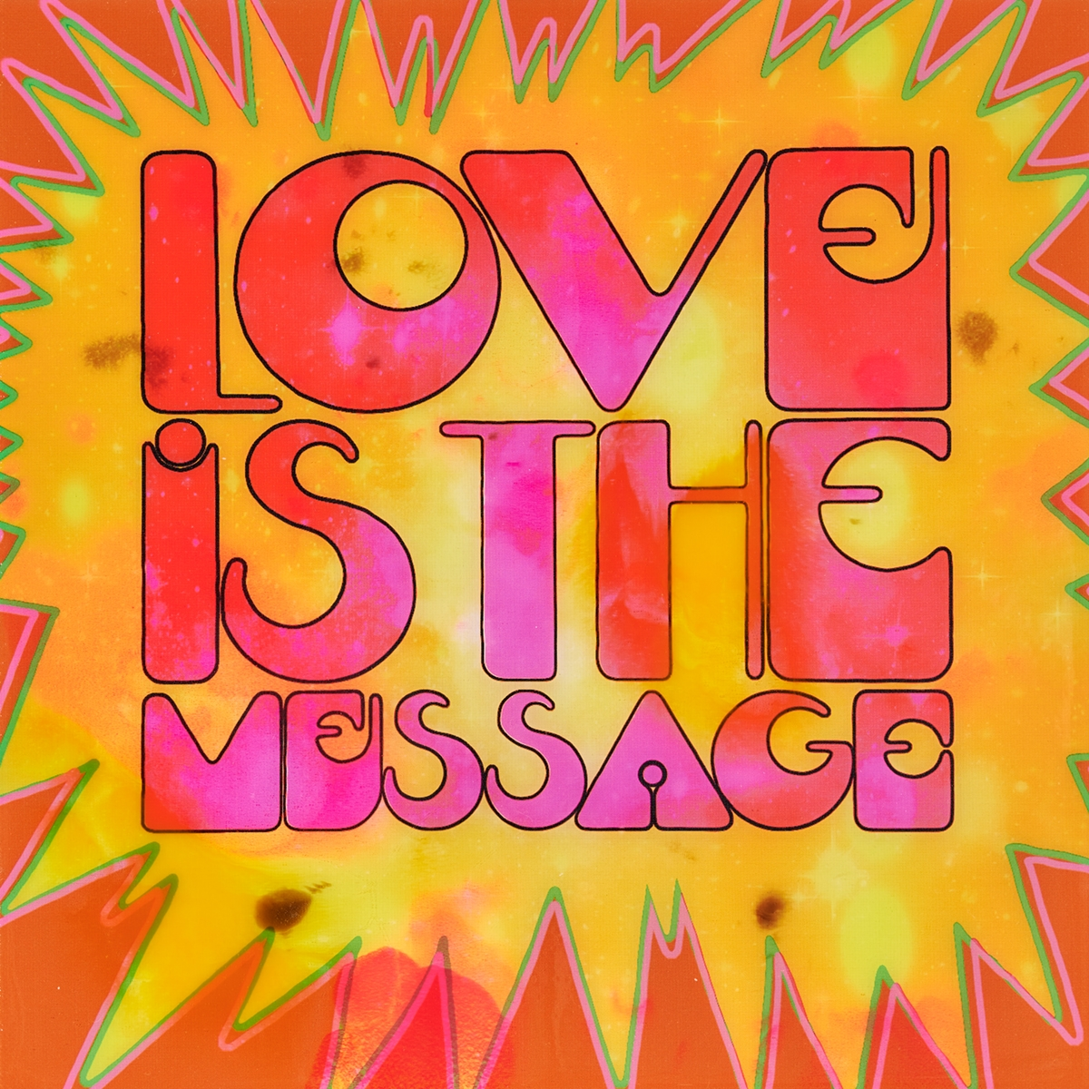 Love is the Message - Epoxy - 2020
