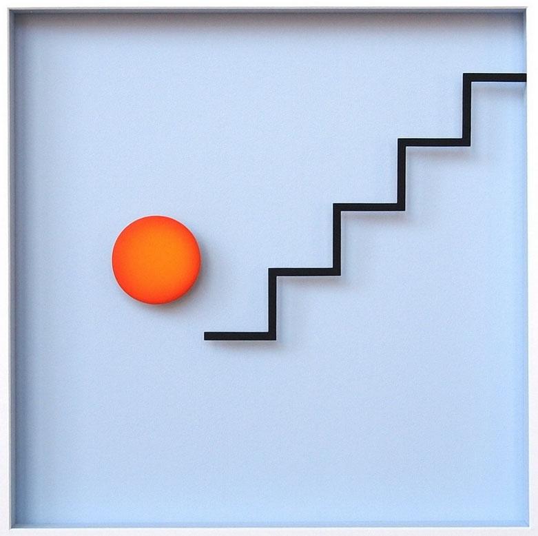Punkt und Linie 14 (Treppe 2)