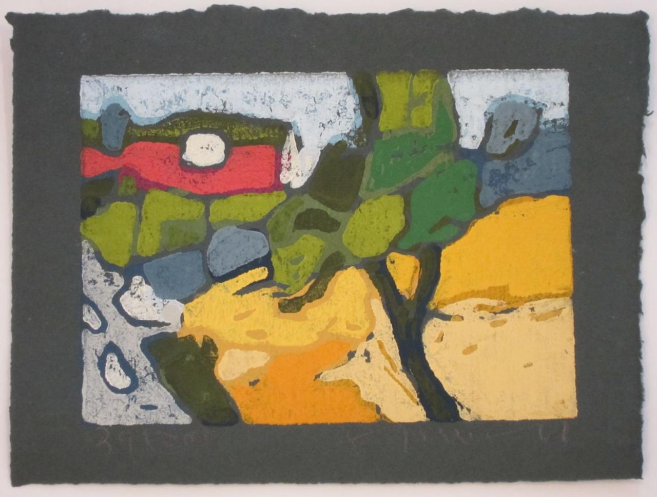 Landschaft mit Weizen bei Lehbek