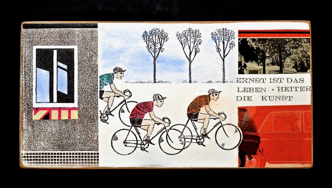 Ernst ist das Leben (Radfahrer)