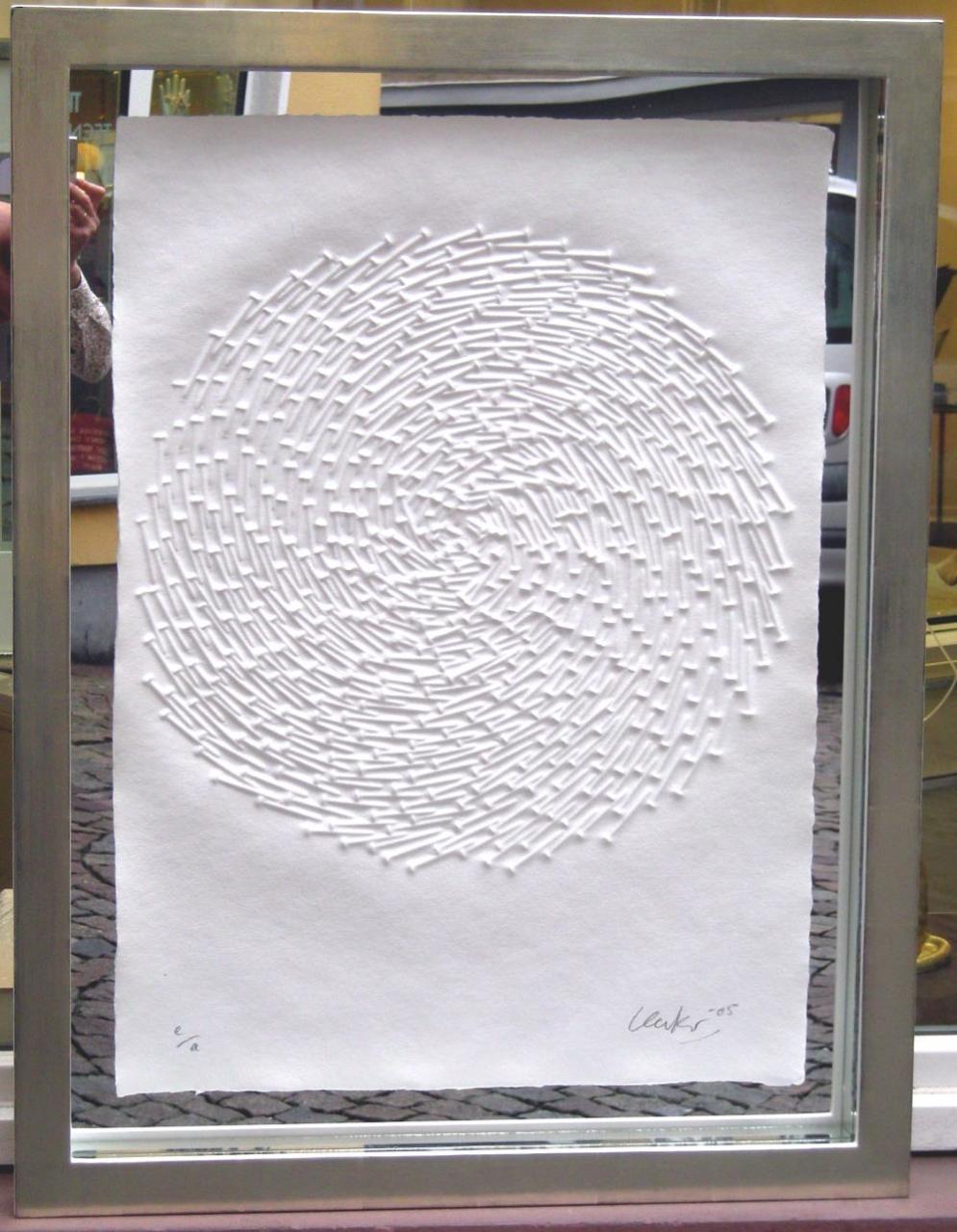 Spirale 05 gerahmt