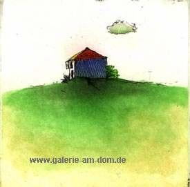 Teneriffa blaues Haus