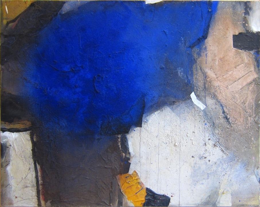 o. T. (dunkelblau oben) 120 x 150 cm