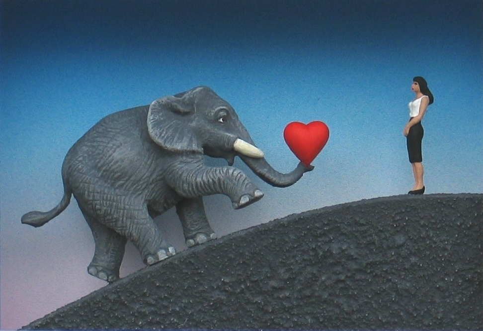 Ich bin ein Elefant, Madame