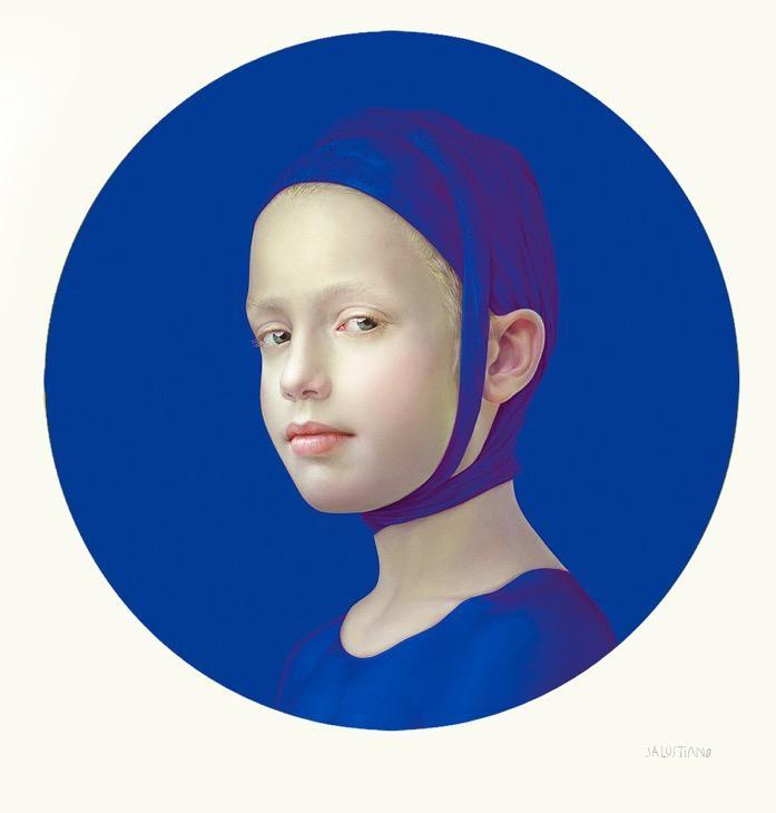 June (Dark Blue I), 2019