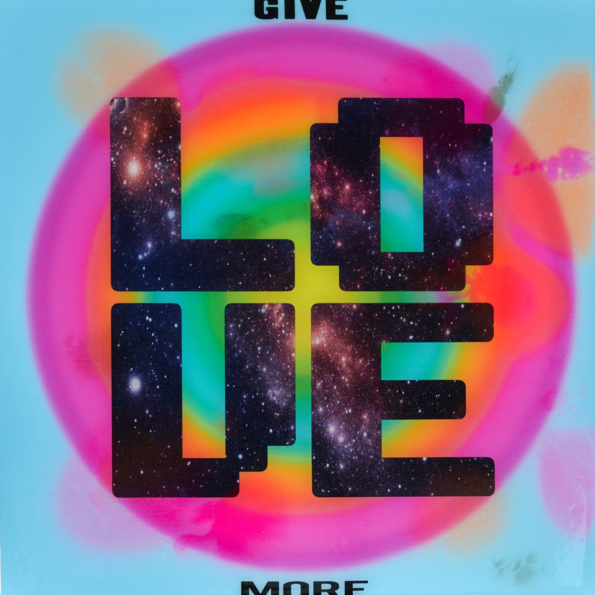 Give Love - Epoxy - 2020