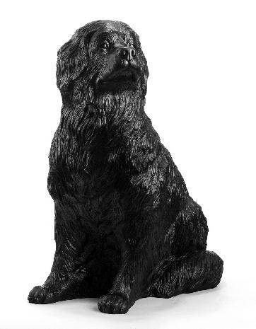 Wagners Hund Russ, schwarz