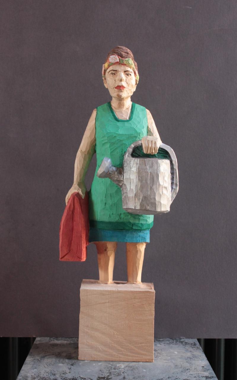 Edekafrau (1404) mit silberner Gießkanne