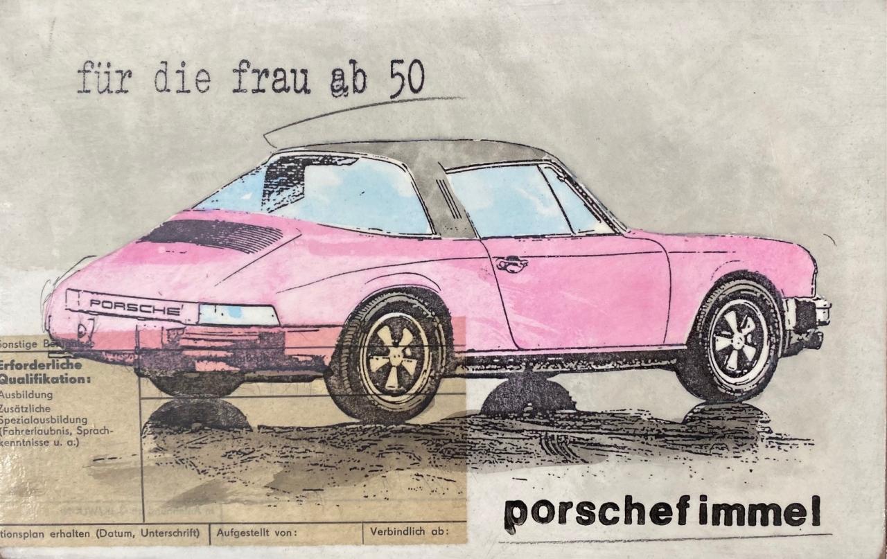 Porschefimmel - Für die Frau ab 50 - Flieder Targa