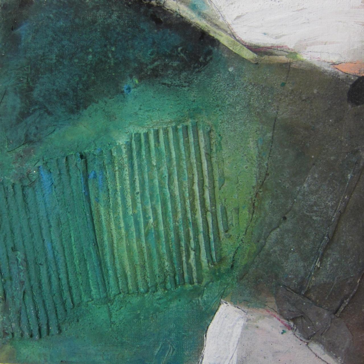 o.T. 30 x 30 cm (3) - grün