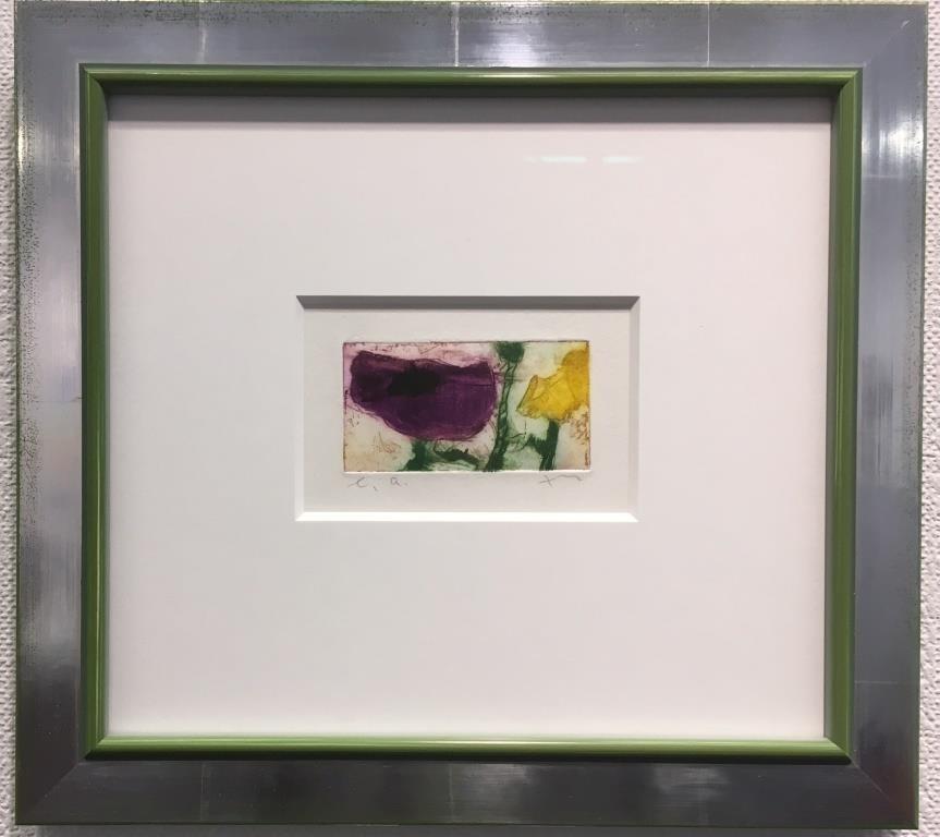 Anemone Rudbeckia, gerahmt