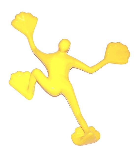Flossi VII - gelb-warm