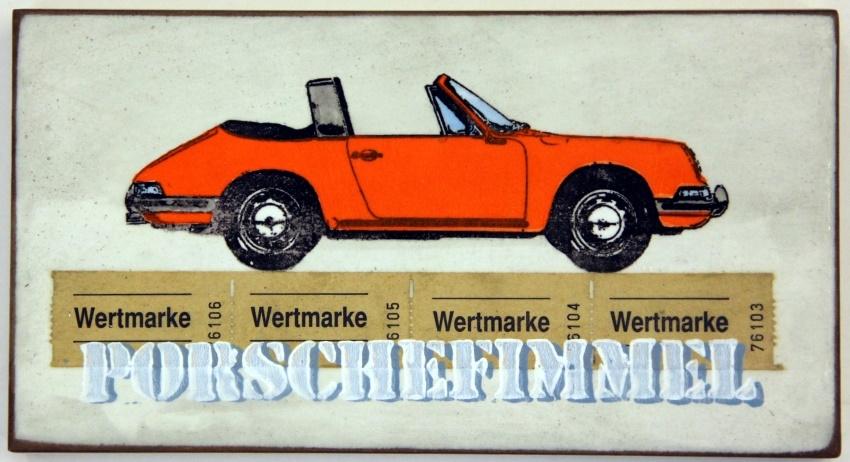 Porschefimmel Orange nach Rechts