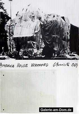 America House Wrapped, Heidelberg 1969