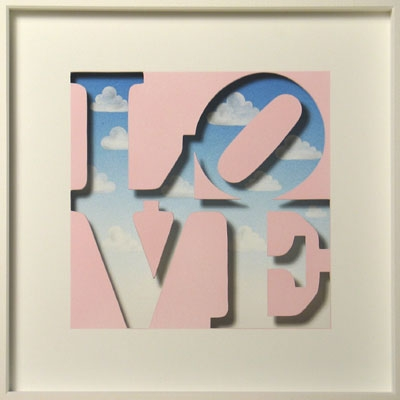 Homage to Robert Indiana - Love is in the Air