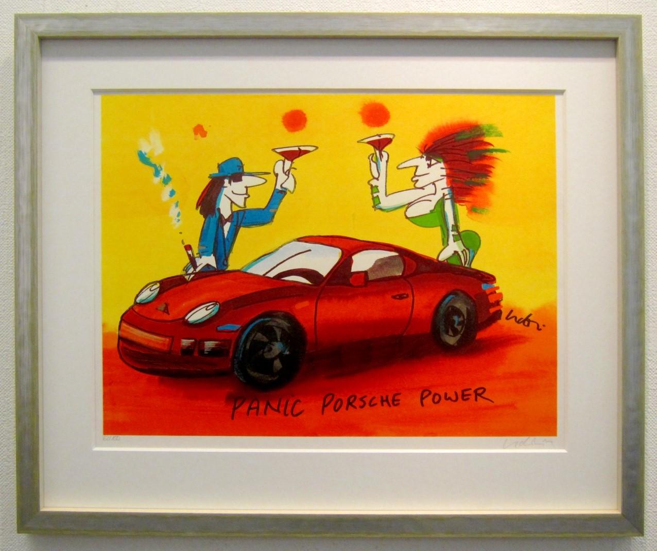 Panic Porsche Power, gerahmt