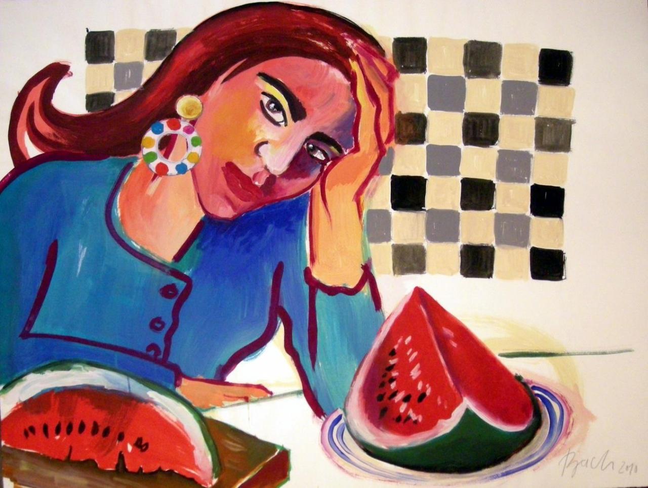 Melone für zwei