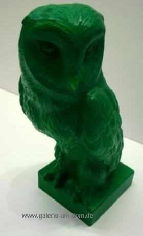 Eule für Athen - grün