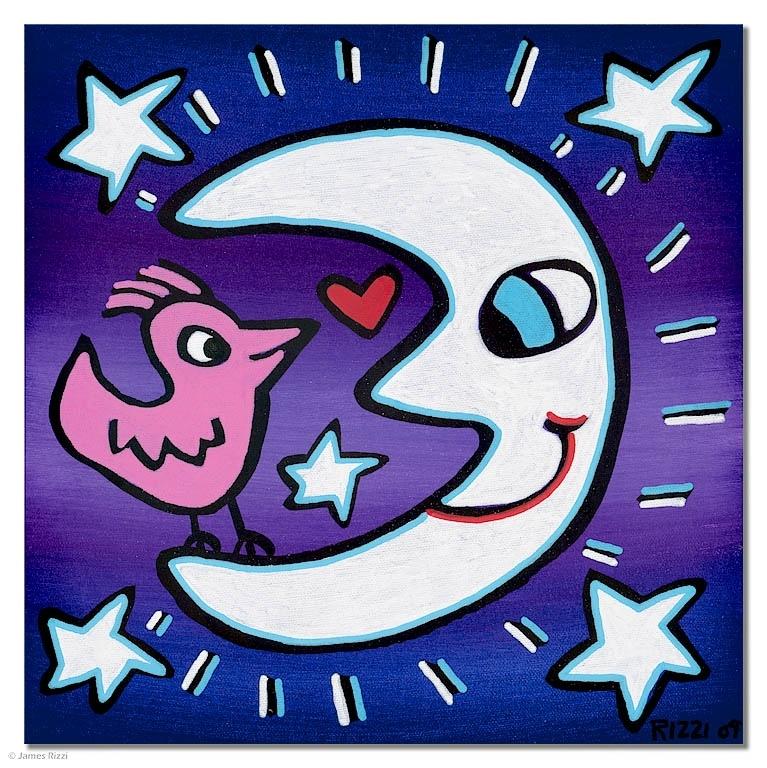 Moonbeams with sweet dreams