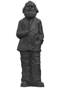 Karl Marx - schwarz