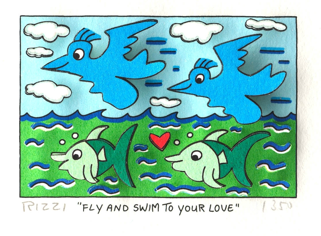 Fly and Swim to Your Love