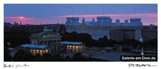 Reichstag Sonnenuntergang 1995