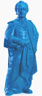 Goethe 2014 - enzianblau, signiert