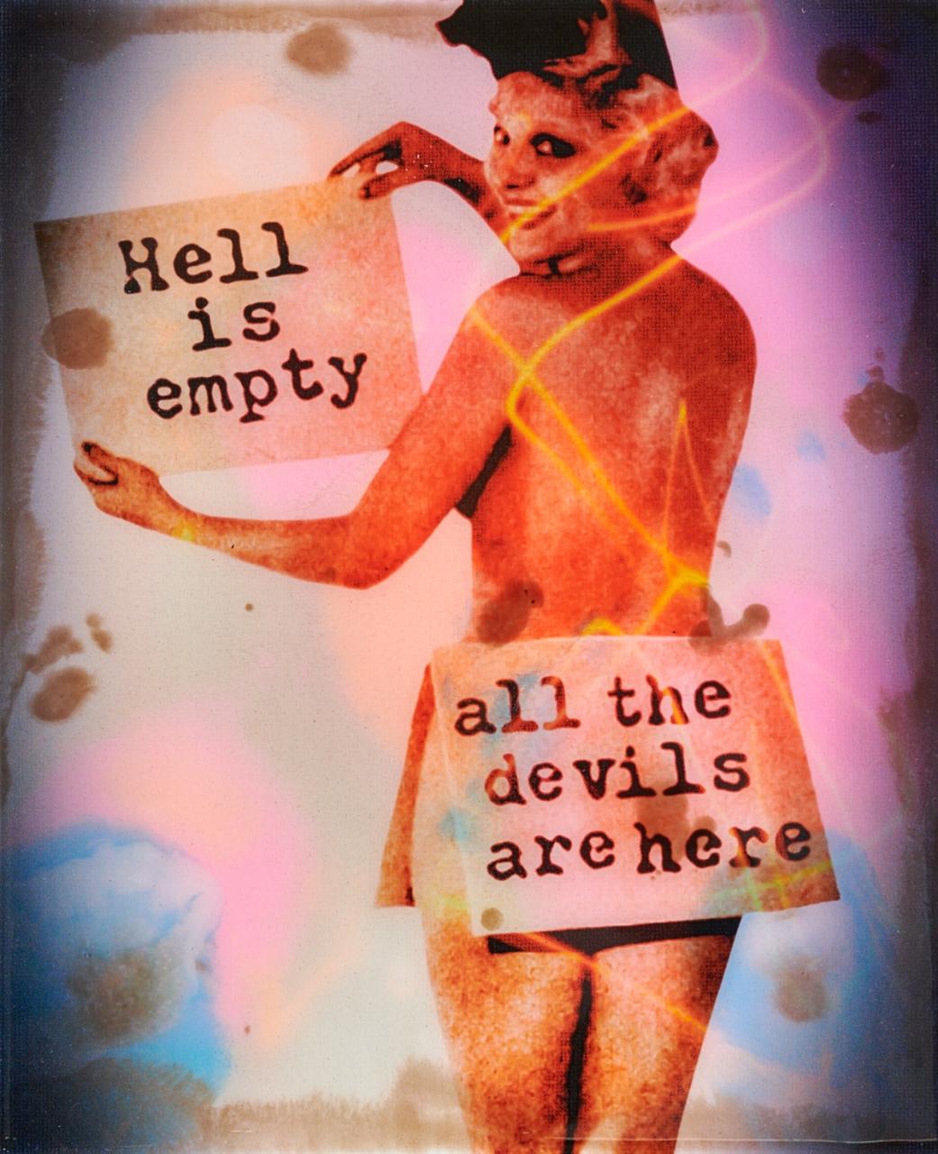 Hell Is Empty - Epoxy - 2020