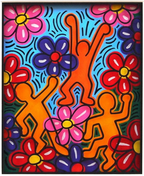 The Garden of Keith Haring