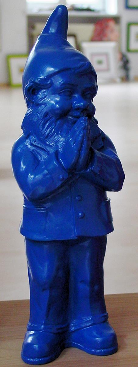 Ben, der betende Zwerg - blau