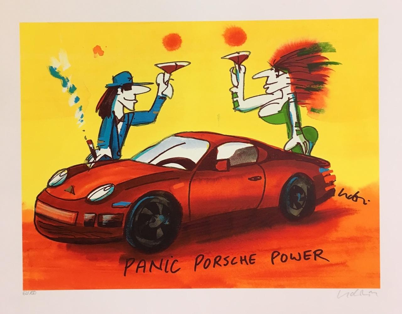Panic Porsche Power - Grafik 2016