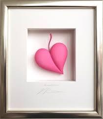 Herzblatt - pink