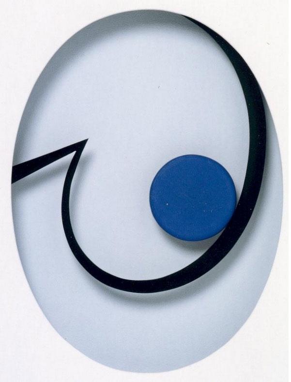 Punkt und Linie 21 (Schwung oval)